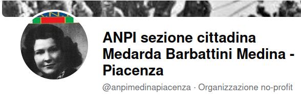 ANPI Sezione cittadina Medarda Barbattini Piacenza
